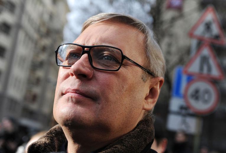 Cопредседатель партии РПР-ПАРНАС Михаил Касьянов