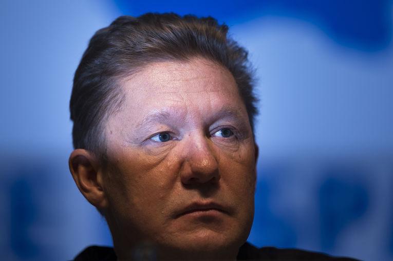 Глава «Газпром» Алексей Миллер