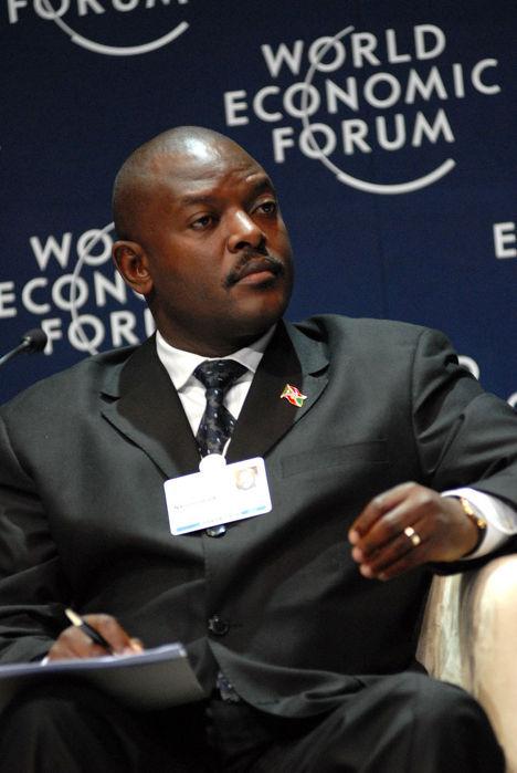 Президент Бурунди Пьер Нкурунзиза