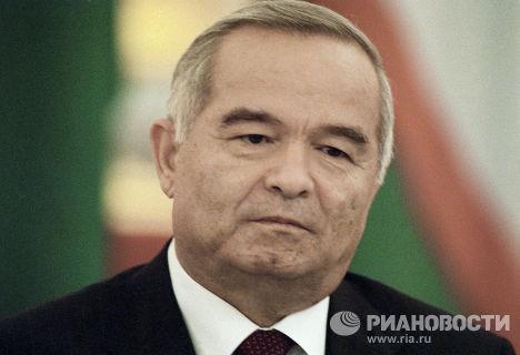 Президент Узбекистана Каримов