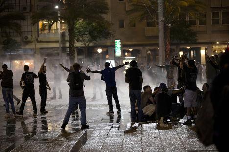 Столкновения выходцев из Эфиопии с полицией в Тель-Авиве