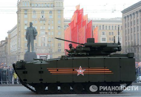Репетиция военного парада в Москве в ознаменование 70-летия Победы в Великой Отечественной войне 1941-1945 годов
