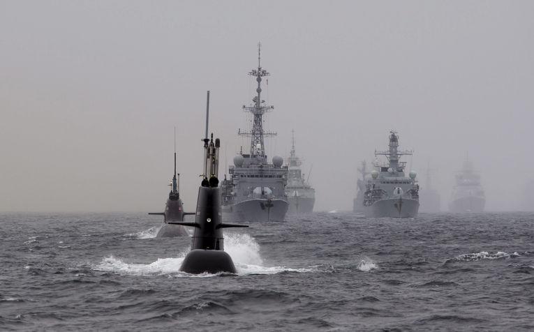 Учения НАТО Dynamic Mongoose у побережья Норвегии