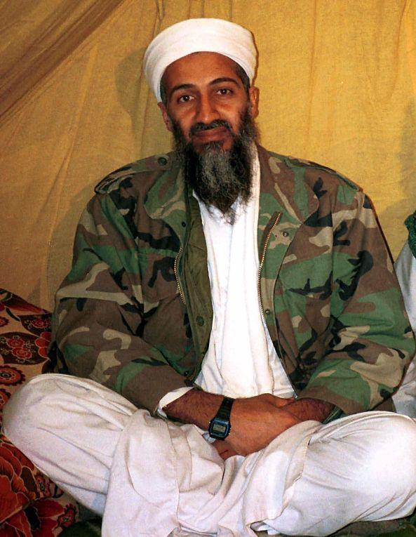 Лидер Аль-Каиды Усамы бин Ладена