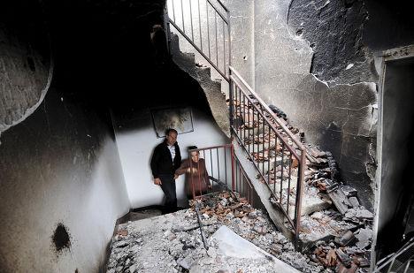 Пострадавший дом в Куманово