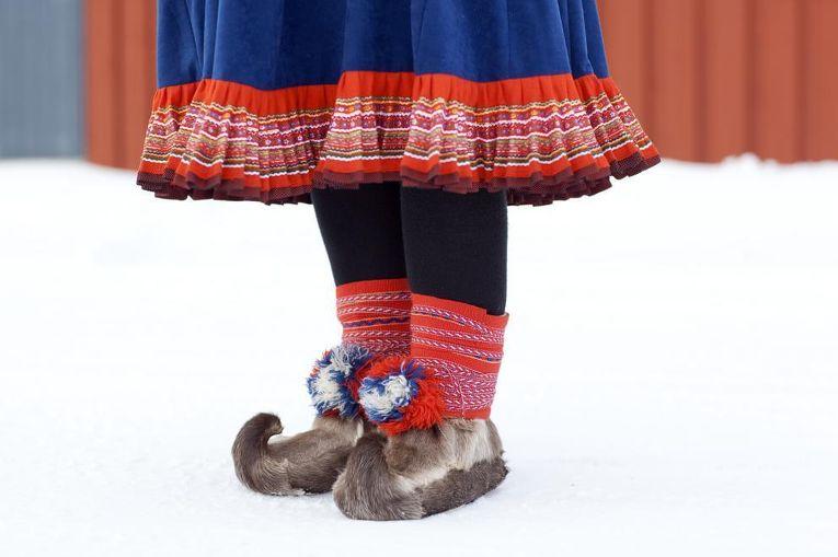 Традиционный костюм саамов