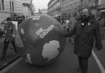 Участники и сторонники партии «Зеленых», 1983 год
