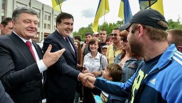 Саакашвили станет связным