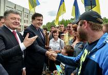 Президент Украины Петр Порошенко назначил Михаила Саакашвили главой Одесской области
