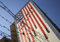 Граффити в Тегеране