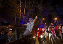 Иранцы празднуют ядерное соглашение в Тегеране