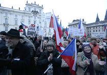 Протест против ислама в Праге