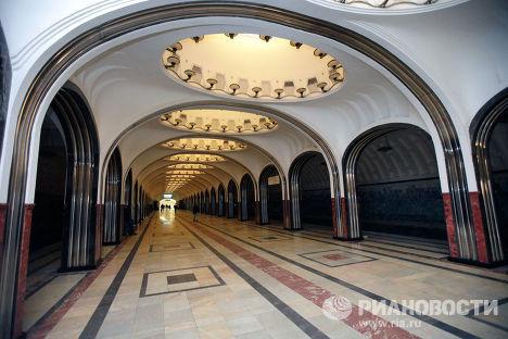 """Открытие станции """"Маяковская"""" после реконструкции"""