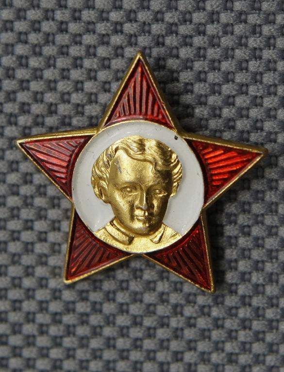 Ленин значок тираж 1100
