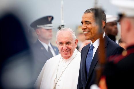 Встреча Барака Обамы с папой Франциском
