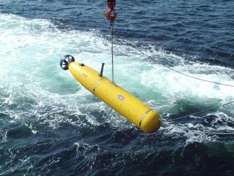Необитаемый подводный аппарат BPAUV