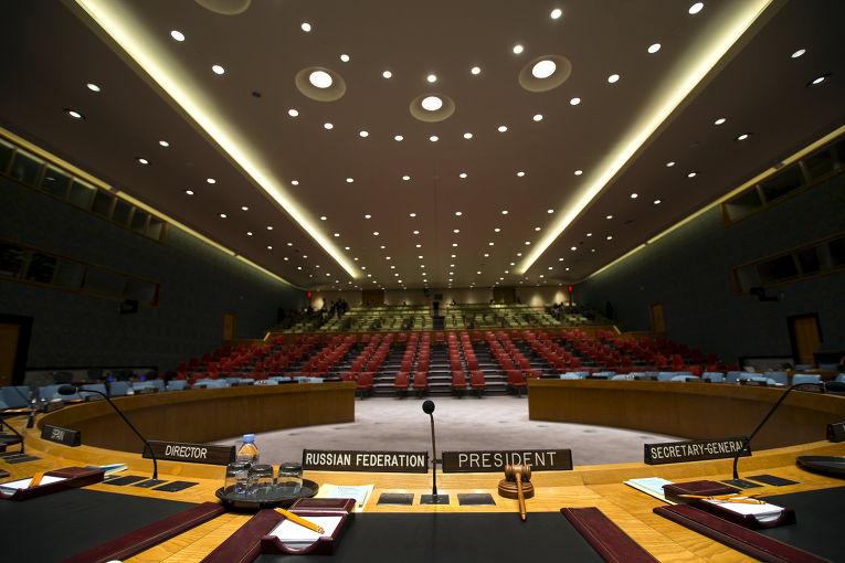 В штаб-квартире ООН в Нью-Йорке