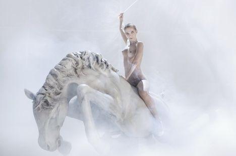 Сцена из спектакля «Травиата»