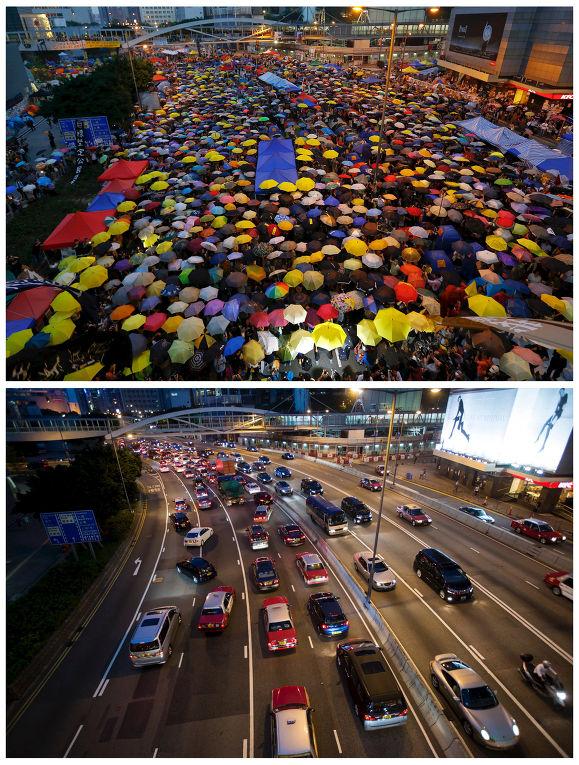Зонтичная революция год спустя