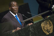 Выступление президента Зимбабве Роберта Мугабе на 70-й сессии Генеральной ассамблеи ООН