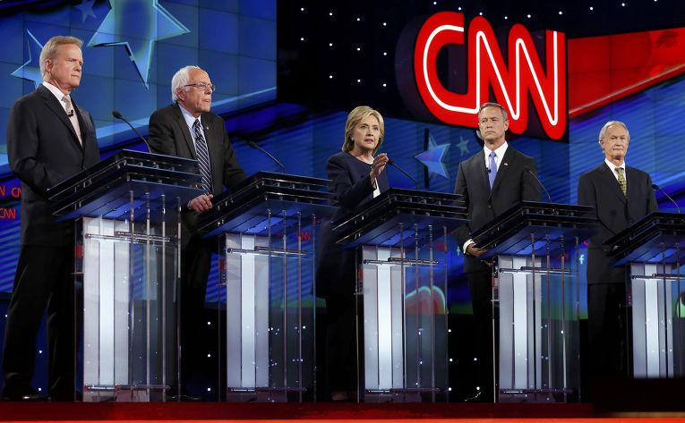 Первые президентские дебаты демократов