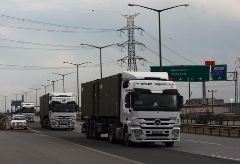 Напряженность с Россией ударяет по грузоперевозкам