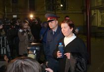 Рассмотрение ходатайства следствия об избрании меры пресечения Н.Шариной