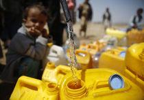 Нехватка питьевой воды в Йемене
