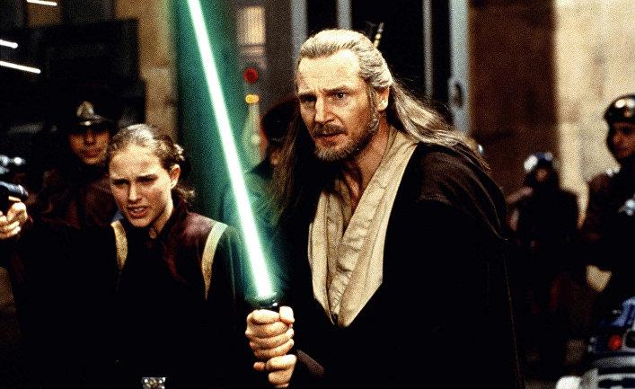 Кадр из фильма «Звездные войны. Эпизод I: Скрытая угроза»