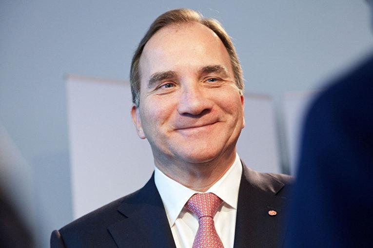Премьер-министр Швеции Стефан Левен
