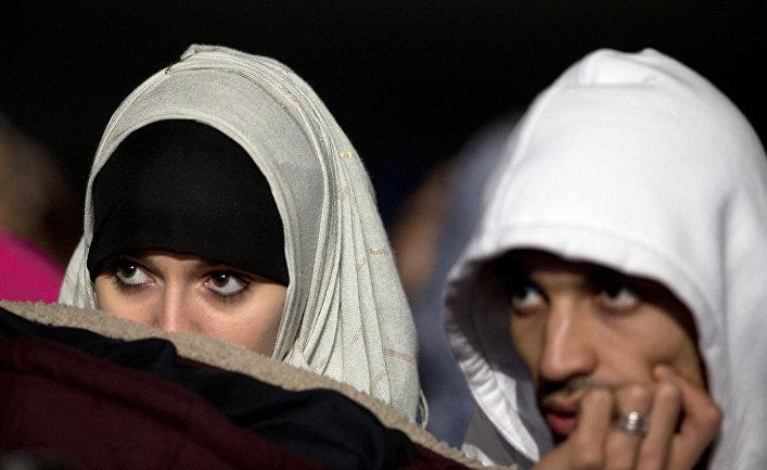 Съезд французских мусульманских организаций в пригороде Парижа Ле Бурже