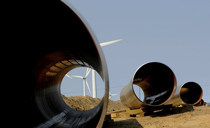 Начало строительства газопровода OPAL в Германии
