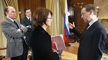 Интервью президента России Дмитрия Медведева представителям средств массовой информации Испании