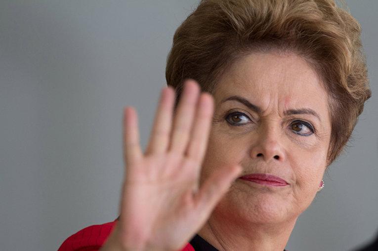 Президент Бразилии Дилма Русеф