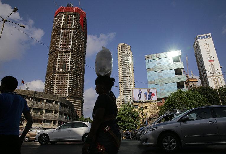 Строящиеся дома в Мумбаи