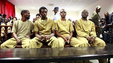 Обвиняемые в заговоре активисты, задержанные в Луанде