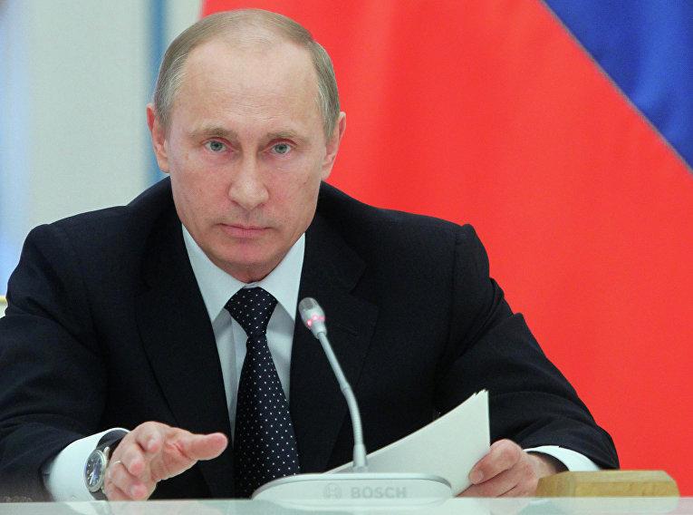 Совещание в Кремле о ходе выполнения указов президента РФ