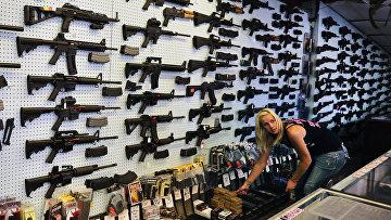 Магазин оружия в штате Колорадо