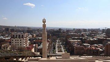 Вид Еревана