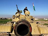 Пешмерга готовятся к бою с боевиками «Исламского государства» (запрещена в РФ) на севере Ирака