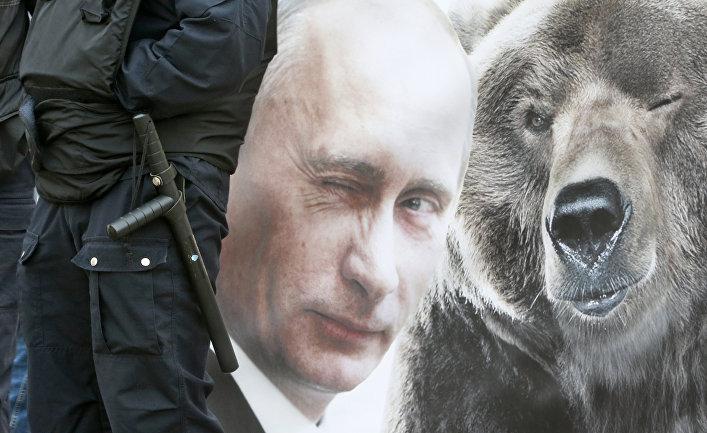 Washington post: российский медведь становится все неменее наглым