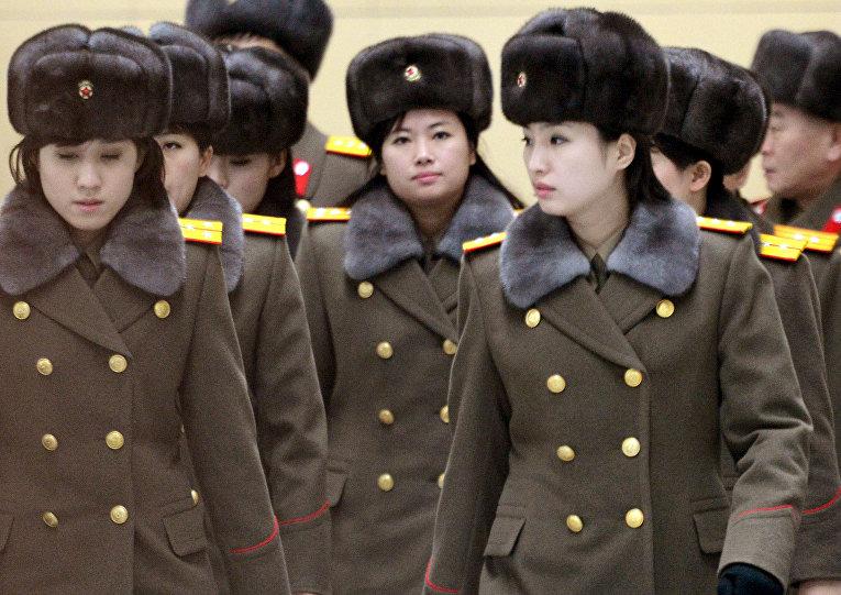 северная корея фото девушек