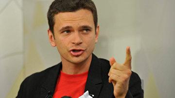 """Активист движения """"Солидарность"""" Илья Яшин"""