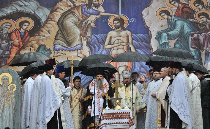 Общегородское освящение воды в день Крещения Господня во Львове