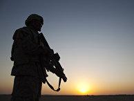 Американский солдат в Ираке