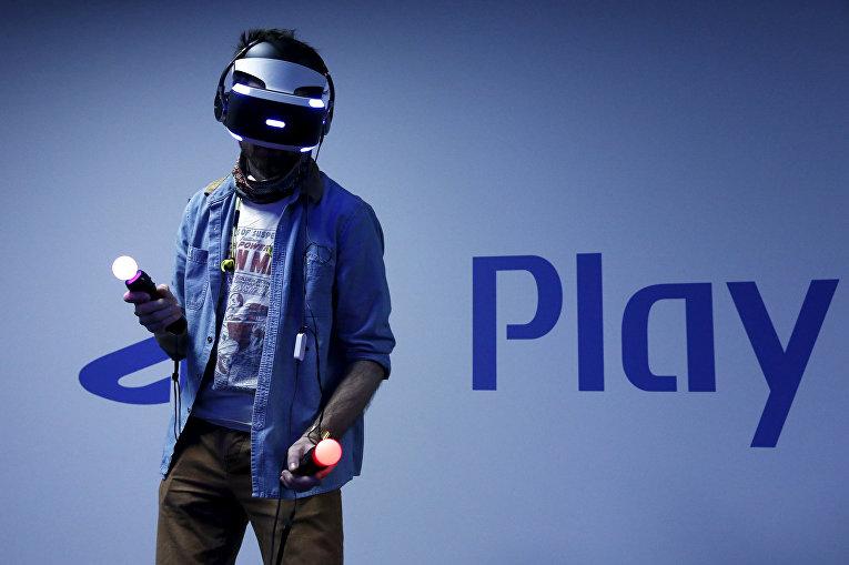 Шлем виртуальной реальности PlayStation VR