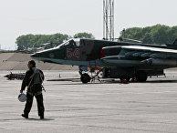 Штурмовик Су-25 СМ