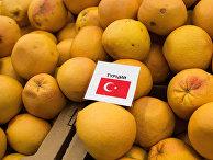 Турецкие мандарины в одном из магазинов Омска
