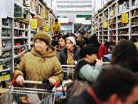 Работа гипермаркетов в предновогоднее время в Москве