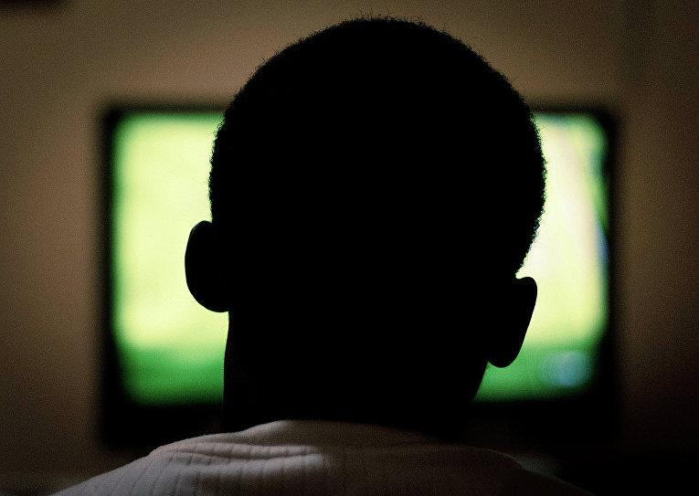 Просмотр телевизора